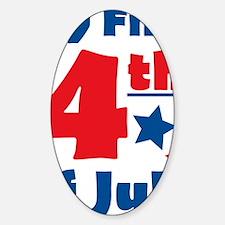 firstfourth Sticker (Oval)