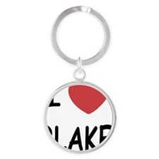 BLAKE Round Keychain