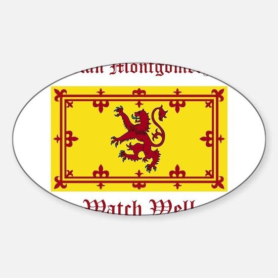 Montgomery Sticker (Oval)