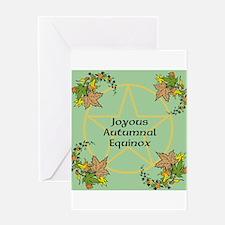 Mabon Fall Equinox Greeting Card