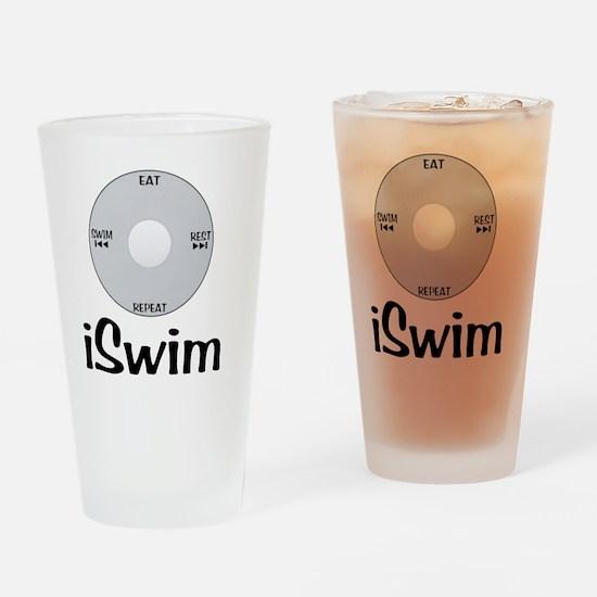 iSwim Drinking Glass