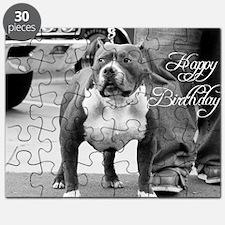 happy birthday pitbull Puzzle