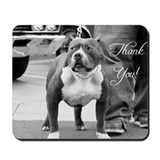 Pit bull Mouse Pads