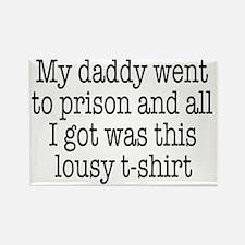 lousy t shirt Rectangle Magnet