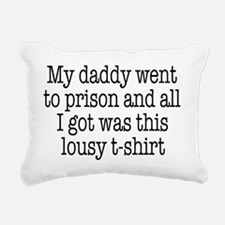 lousy t shirt Rectangular Canvas Pillow