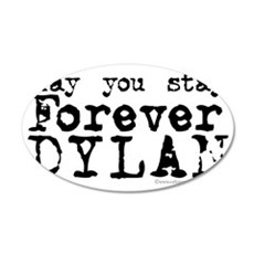 Forever Dylan-REV 35x21 Oval Wall Decal