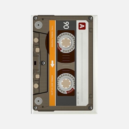 cassette tape vertical Rectangle Magnet