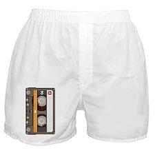 cassette tape vertical Boxer Shorts