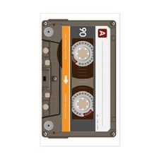 cassette tape vertical Decal