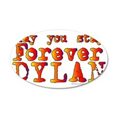 Forever Dylan-CLR 35x21 Oval Wall Decal
