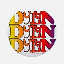 Dylan1 Round Ornament