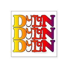 "Dylan1 Square Sticker 3"" x 3"""