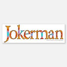 Jokerman Bumper Bumper Sticker