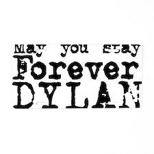 Forever Dylan Aluminum License Plate