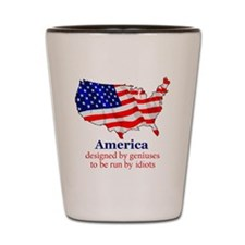 America Shot Glass