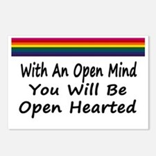 Open Mind Open Hearted Postcards (Package of 8)