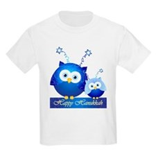 Happy Hanukkah Owls T-Shirt