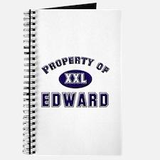 Property of edward Journal