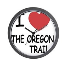 THE_OREGON_TRAIL Wall Clock