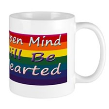 Open Mind Rainbow bumper sticker 3 Mug