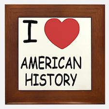 AMERICAN_HISTORY Framed Tile