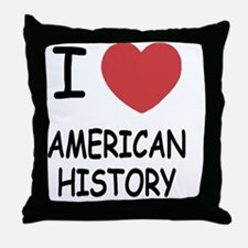 AMERICAN_HISTORY Throw Pillow
