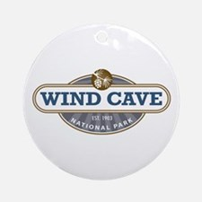 Wind Cave National Park Ornament (Round)