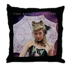 EarlyRoxyMusic Throw Pillow