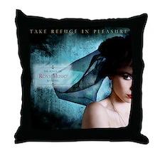 LaterRoxyMusic Throw Pillow