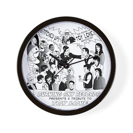 Stitched-Up!!-Booklet-Art-600dpi-FINAL- Wall Clock