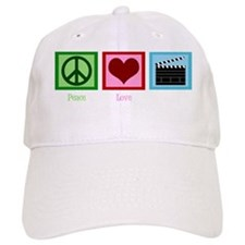peaceloveactionwh Baseball Cap
