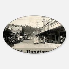 hangtown Sticker (Oval)