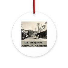 hangtown Round Ornament