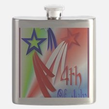 Three Star 4th PosterP Flask