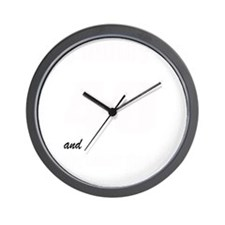 hubby is 40 Wall Clock