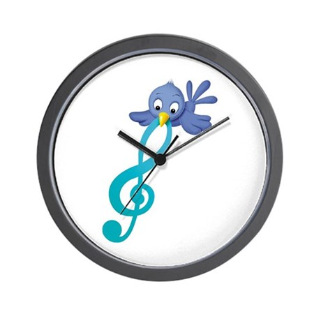 Musical Bird Wall Clock