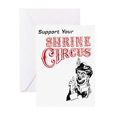 Circus-04_ Greeting Card