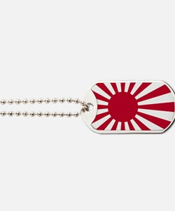 Rising Sun Flag Naval_Ensign_of_Japan Dog Tags