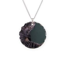 Napping Cat Necklace