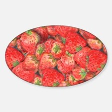 Strawberries-horizontal-C Decal