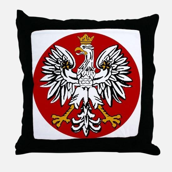 polishfalcon2 Throw Pillow