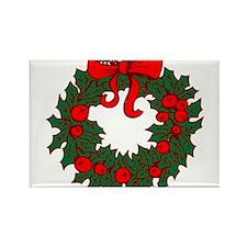 Christmas Wreath Magnets