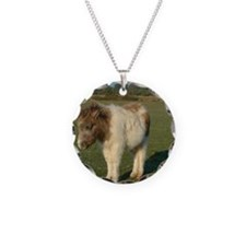 Shetland pony notecard 2 Necklace