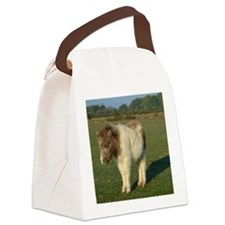 Shetland pony notecard 2 Canvas Lunch Bag