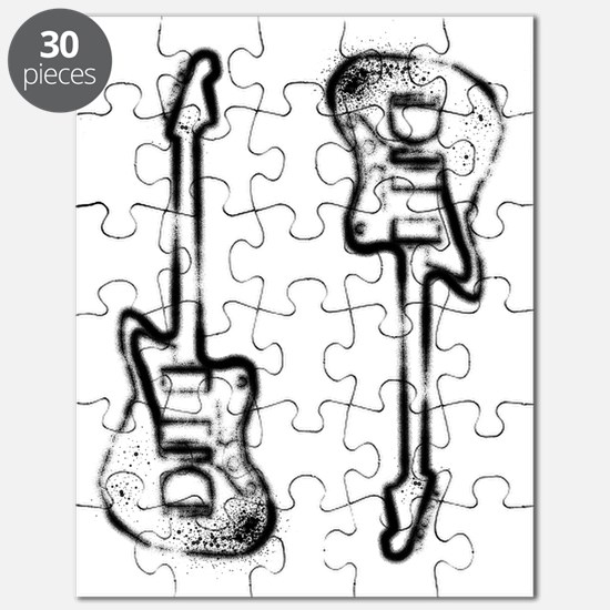 Grunge Twins Puzzle
