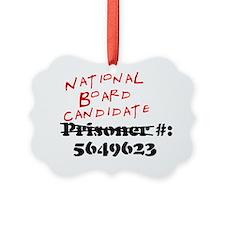 Prisoner_Number_Crop Ornament