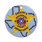 Hardeman County Sheriff Ornament (Round)