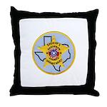 Hardeman County Sheriff Throw Pillow