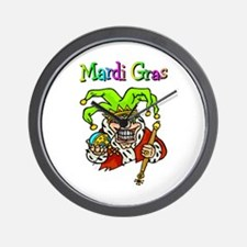 Crazy Jester Wall Clock