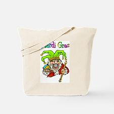 Crazy Jester Tote Bag